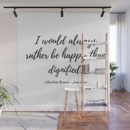 Jane Eyre - Happy Wall Mural