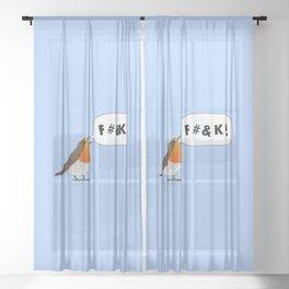 Fuck Robin Sheer Curtain