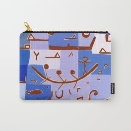 Paul Klee Inspired - The Nile #1 Carry-All Pouch
