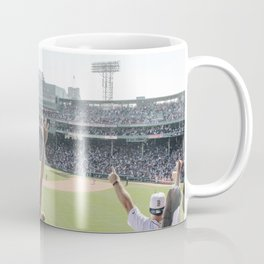 Red Sox Win in Color Coffee Mug