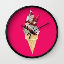 Icescream Wall Clock