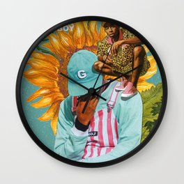 The Creator - Flower Boy Wall Clock