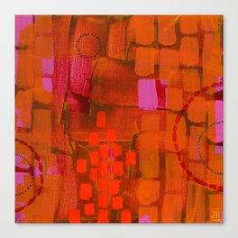 Brick Layers Canvas Print