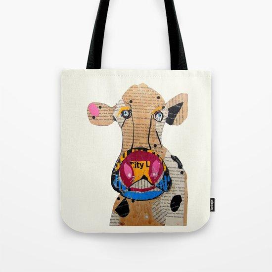 cow frazer Tote Bag