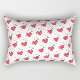 heart hearts Rectangular Pillow