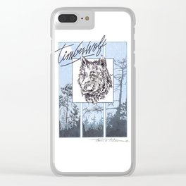 Timberwolf Clear iPhone Case