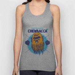 Hipster Chewie Unisex Tank Top