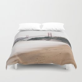 Baker beach Duvet Cover