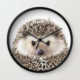 Hedgehog Art Wall Clock