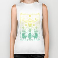 balance Biker Tanks featuring Balance by Shirley Jackson