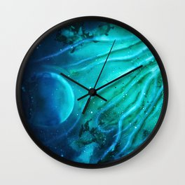 Space squid Wall Clock