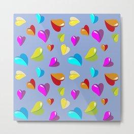 little heart,Herzchen Metal Print