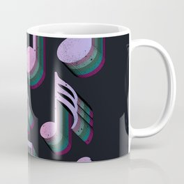 Musical Notes - Art Of Music Coffee Mug