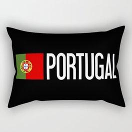 Portugal: Portuguese Flag & Portugal Rectangular Pillow