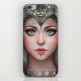 Libra - The Star Sign iPhone Skin