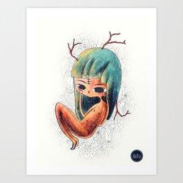 PROMESAS DE UN CIERVO Art Print