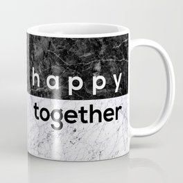 Happy Together Couples Quote Coffee Mug