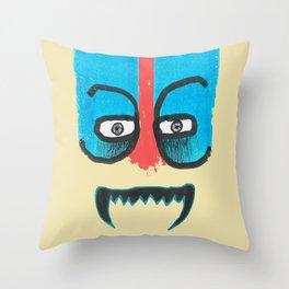 Hello teeth! Throw Pillow