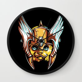 The Special Cat - Our Superhero. Wall Clock