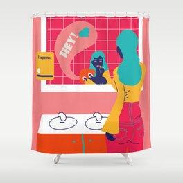 Fear not, bel ami Shower Curtain