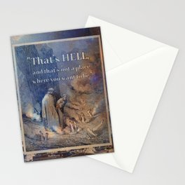 That's Hell Stationery Cards