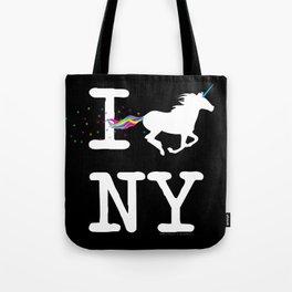 I Unicorn NY Tote Bag
