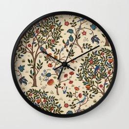 """William Morris """"Kelmscott Tree"""" 1. Wall Clock"""