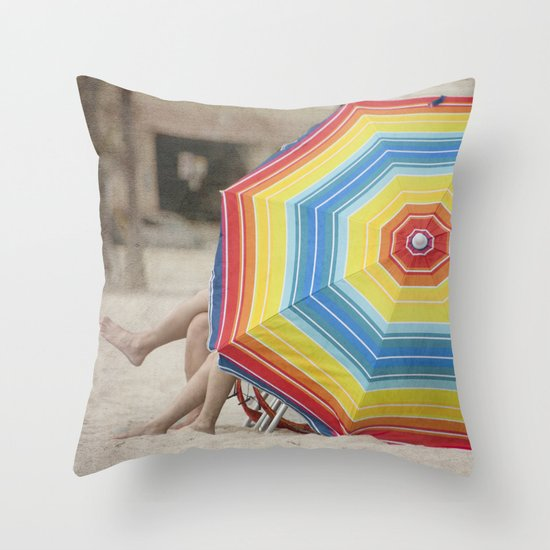 Spring Break Throw Pillow
