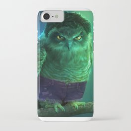 The Incredible Owlk! iPhone Case