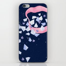 Your words are diamonds iPhone Skin