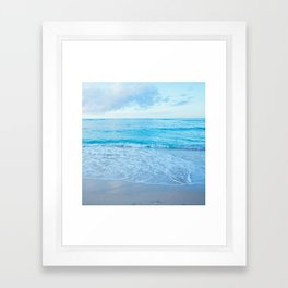 calm day 03 Framed Art Print