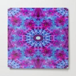 Tablecloth dewdrops.... Metal Print