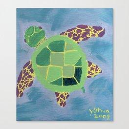 Chiara's Turtle Canvas Print