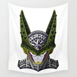 Ornate Cell DBZ Wall Tapestry