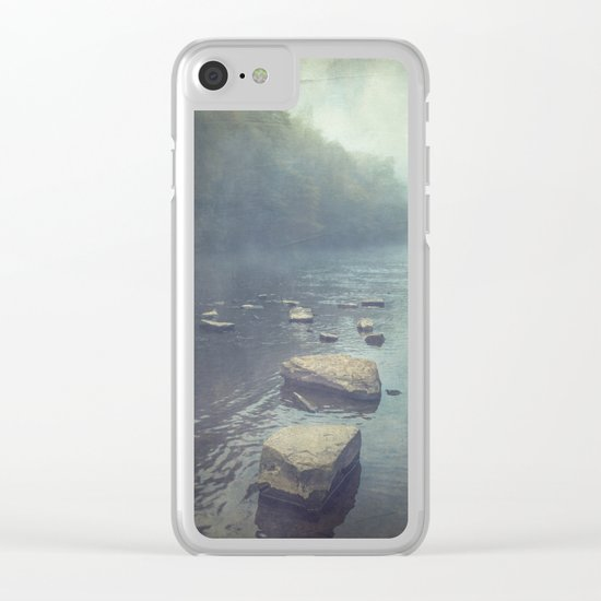 Stones in A River Clear iPhone Case