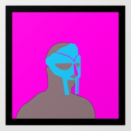 MF Doom vector art Art Print