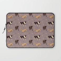 Rescue Dogs Pattern Laptop Sleeve