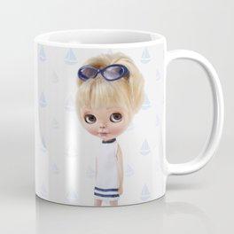 NAVY BLYTHE DOLL MEGAN BY ERREGIRO Coffee Mug