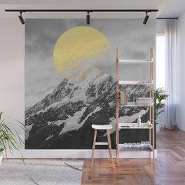 Moon dust mountains Wall Mural