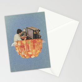 Learn at home in your spare time Stationery Cards