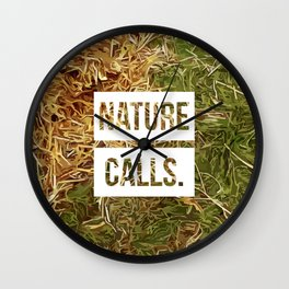 Nature Calls | 4 Wall Clock