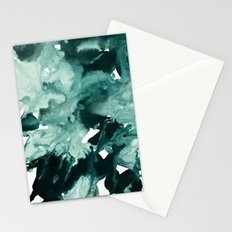 inkblot marble 4 Stationery Cards