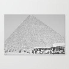 Pyramid//Ten Canvas Print