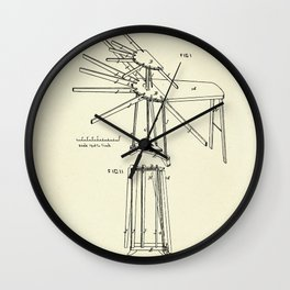 Improvement in Clothes Driers and Ironing Boards-1878 Wall Clock