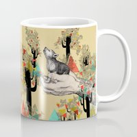eye Mugs featuring Found You There  by Sandra Dieckmann
