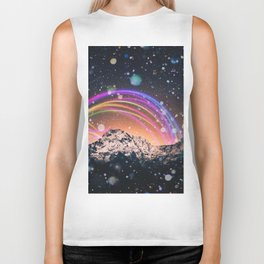 Mountain Wanderlust and Lights Biker Tank