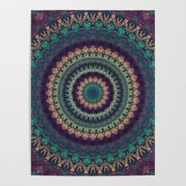 Mandala 580 Poster