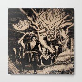 sasuke Metal Print