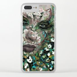 FLOWERS SO WONDERFUL AND SWEET Clear iPhone Case
