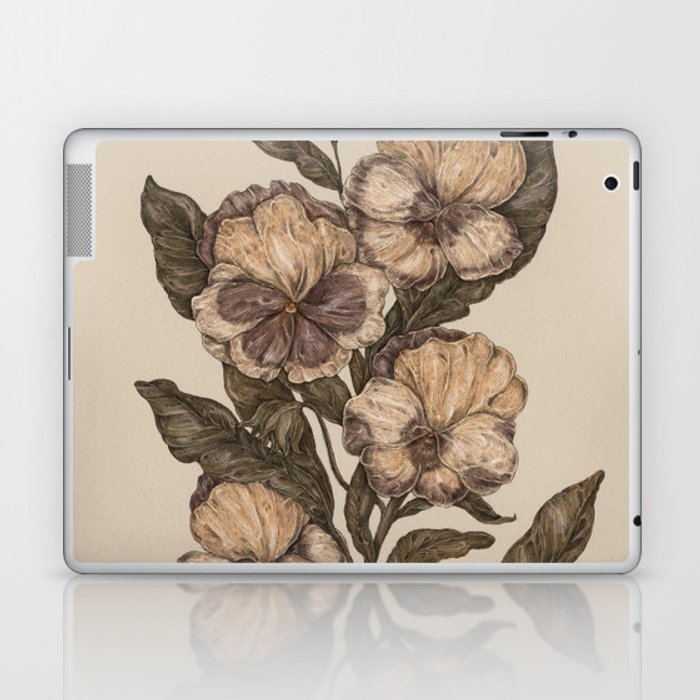 Pansy Laptop & iPad Skin